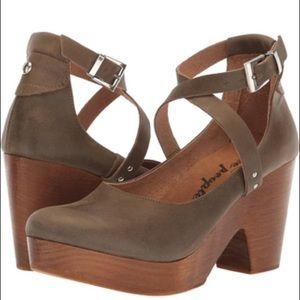 Free People Clogs Size 38